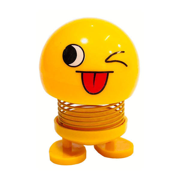 عروسک فنری طرح ایموجی کد E04