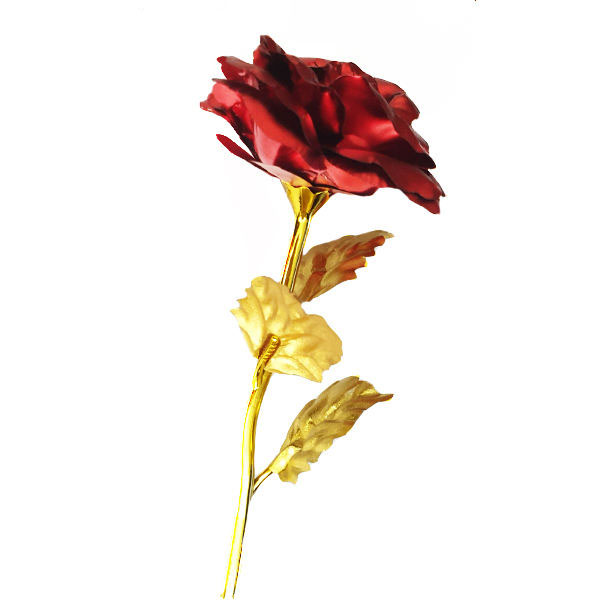 گل مصنوعی مدل red rose  قرمز