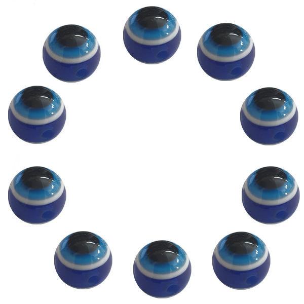 مهره دستبند مدل چشم و نظر کد 27 بسته 10 عددی