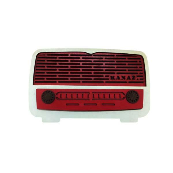 جعبه دستمال کاغذی طرح رادیو کد B135