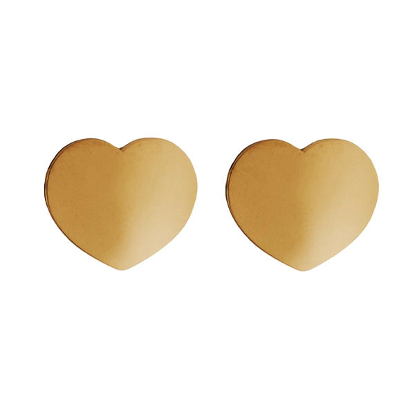 گوشواره زنانه مدل قلب کد 27