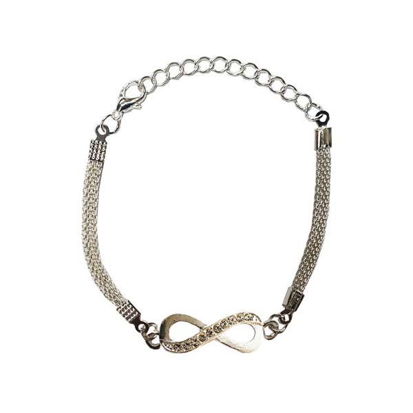 دستبند دخترانه بی نهایت کد 10