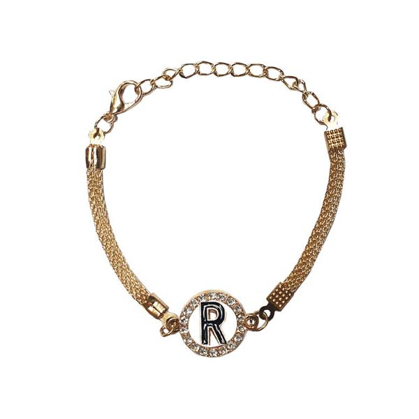 دستبند دخترانه مدل R کد 06