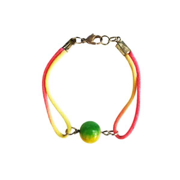 دستبند دخترانه رنگین کمان کد 123