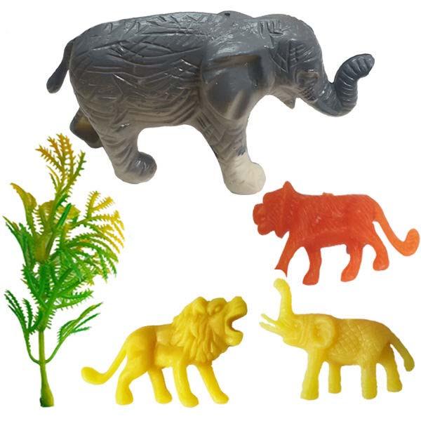 فیگور مدل حیوانات کد 97 مجموعه 5 عددی
