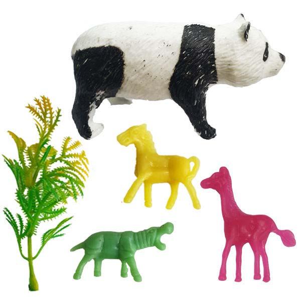 فیگور مدل حیوانات کد 96 مجموعه 5 عددی