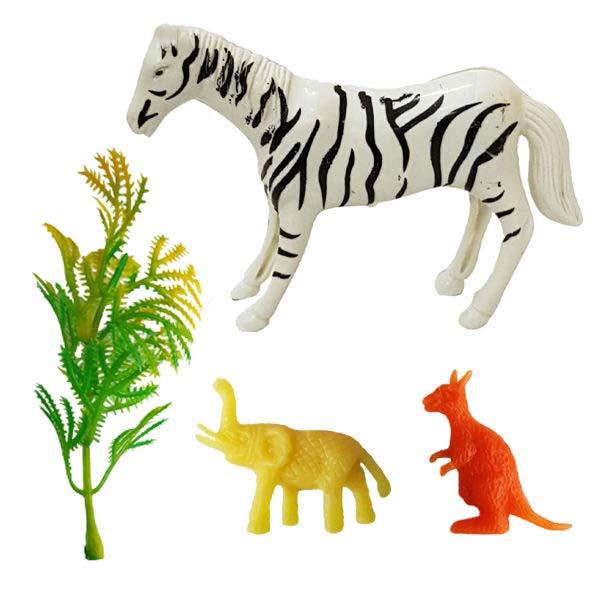 فیگور مدل حیوانات کد 92 مجموعه 4 عددی