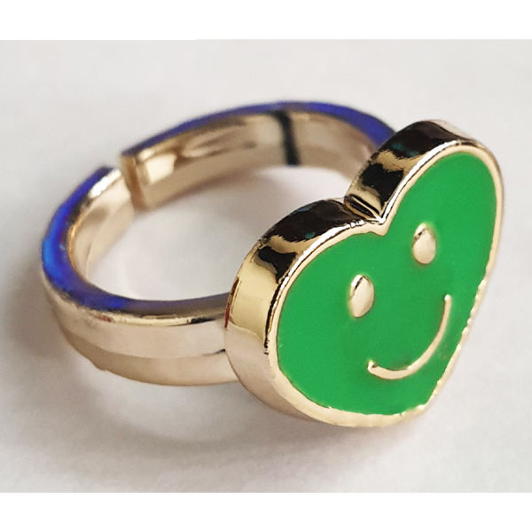 انگشتر دخترانه مدل قلب کد 05