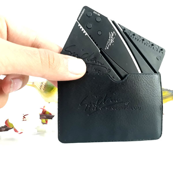 چاقو سینکلر طرح کارت بانکی